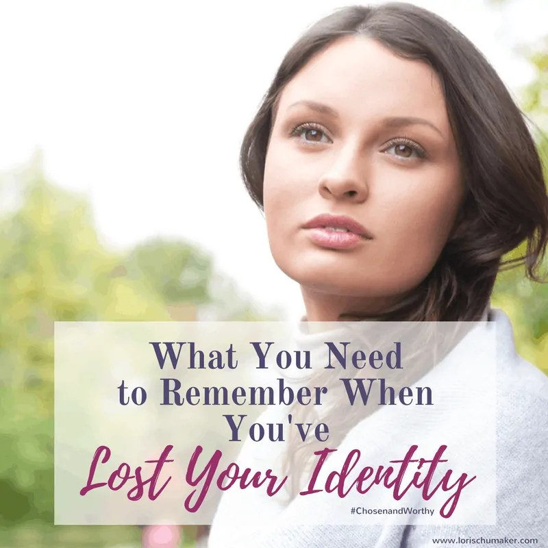What You Need to Remember When You've Lost Your Identity