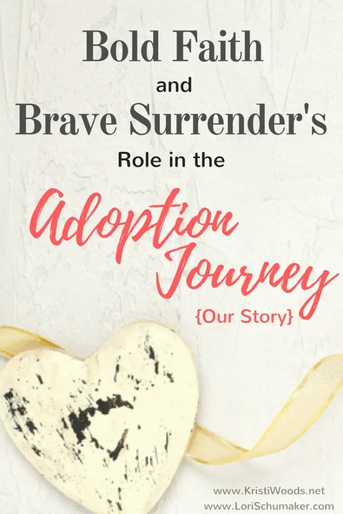 Bold Faith and Brave Surrender's Role in the Adoption Journey {Our Story} | Our international #adoption story of how faith made all the difference