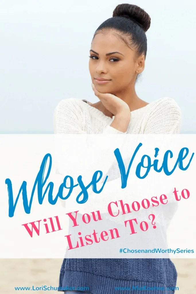 Whose Voice Will You Choose to Listen To - Mia Koehne