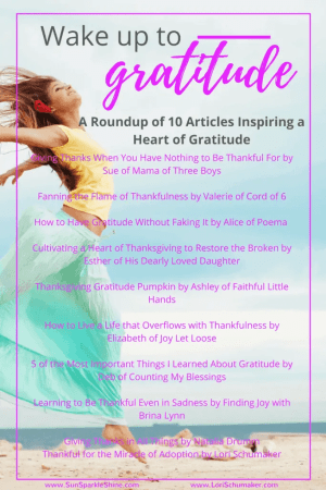 Who Could Use a Little Bit of Gratitude - A Roundup of 10 Articles Inspiring Gratitude | Let's ditch the grumpiness and overwhelm and trade it for something better. Join us for a 5-Day Email Series #wakeupgratitude #gratitude #joy #hope