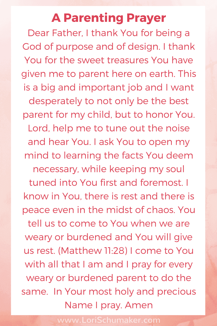 A Parenting Prayer |The One Parent Helpline You Need to Listen To | Do you find it overwhelming to listen to all the advice available today? Raising children is challenging, so how do we decide what to REALLY need to listen to? And how do we make sure we aren't missing the most important voice? #parentingadvice #prayer #parenting #raisingchildren #newmoms