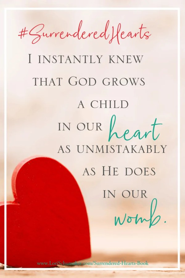 How do you know if adoption is right for you? Will I be able to love a child as though he or she were born from me?This book which is a true adoption story will encourage you to believe in the miracles the Lord will work in your heart and in your lives. | Love of Christ #SurrenderedHeartsBook #Godslove #ChristianAuthor #Adoption #NationalAdoptionMonth