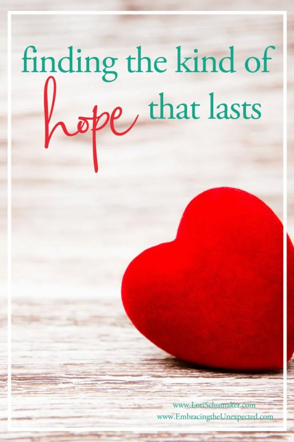 When our hope is found in people, achievement, or life dreams we suffer a rollercoaster of hope. And it can never last. So where do we find a hope that lasts and how do we keep hope alive? #hope #godslove