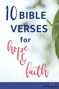 Here are 10 of my personal favorite meaningful Bible verses on faith and hope. And because there is something beautiful and powerful in praying Scripture, I will also share a prayer incorporating each of these 10 Bible verses.#prayer #meaningfulbibleverses #bibleverses #hope #faith #versesonhope #versesonfaith