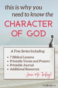"""Do you struggle with really knowing God loves you? With grasping the depth of of that love and its power to change you? One crucial piece to experiencing the fullness of His love is learning about the character of God. Join Lori in this series and grab the free """"God's Unconditional Love Journal."""" #godslove #christianliving #bibleverses #prayer #hope #biblicaljournal #freejournal #biblestudy"""
