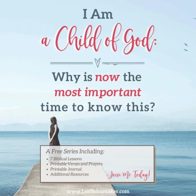 "Can you say, ""I am a child of God"" and feel the power of that statement? Do the circumstances we currently face in our world leave you feeling unsteady? Fearful? Angry? There is not a better time to embrace God's love and live steady in His reflection. #godslove #iamachildofgod #hope #identityinchrist #prayer #bibleverses #journal #biblejournal"
