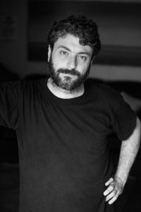 Headshot of Curious Voyage Co-Director  and DopoLavoroTeatrale Artistic Director Daniele Bartolini.