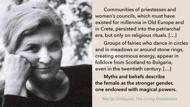 Quote Marija Gimbutas