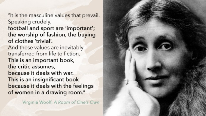 Virginia Woolf values