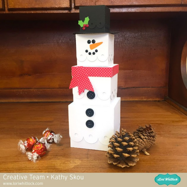 Gift Tower Snowman