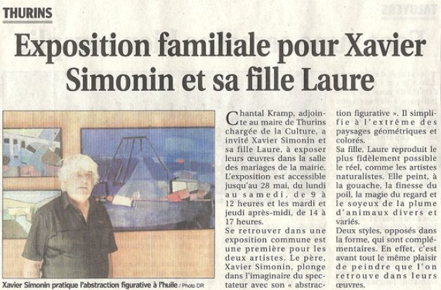 expo thurins simonin article progrès