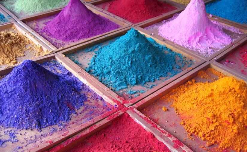 [Technique] Les pigments