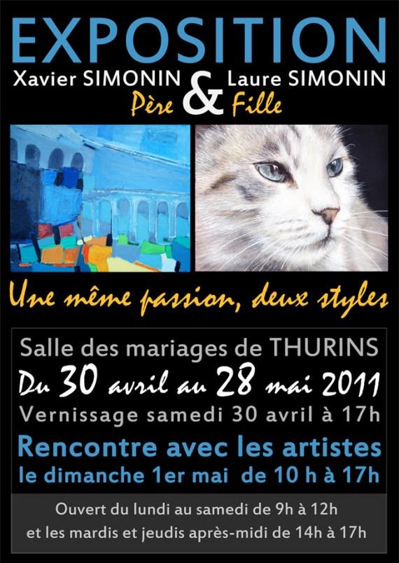 exposition peinture thurins simonin