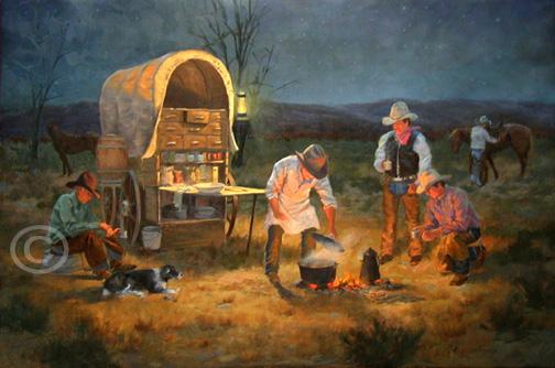 Western Art Cowboys Horses Cattle Ranches Vaqueros