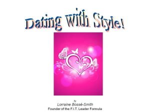 Dating with Style cover