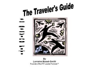 Stay FIT while on the road with these great booklet