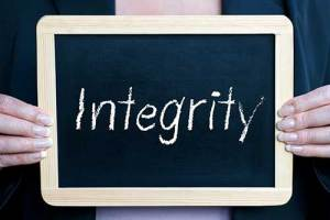 One of Lorraine's core values is integrity