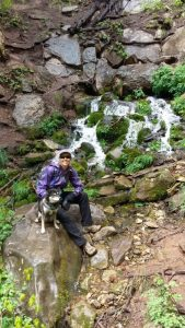 Kuma discovered a little piece of the northwest righ here in Arizona. Read about Horton Creek Falls!