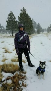 Kuma loves the snow, and he tells you all about his great adventure in Flagstaff, AZ