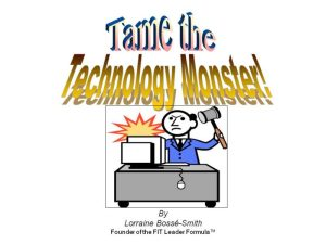 Learn how to put technology in its place