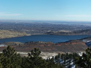 Great views of Horsetooth Res