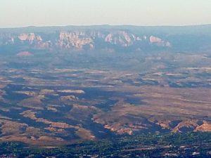 Views of Sedona from Mingus Mountain