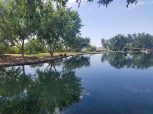 The lake at Anthem Park
