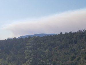 Wild fires in Flagstaff