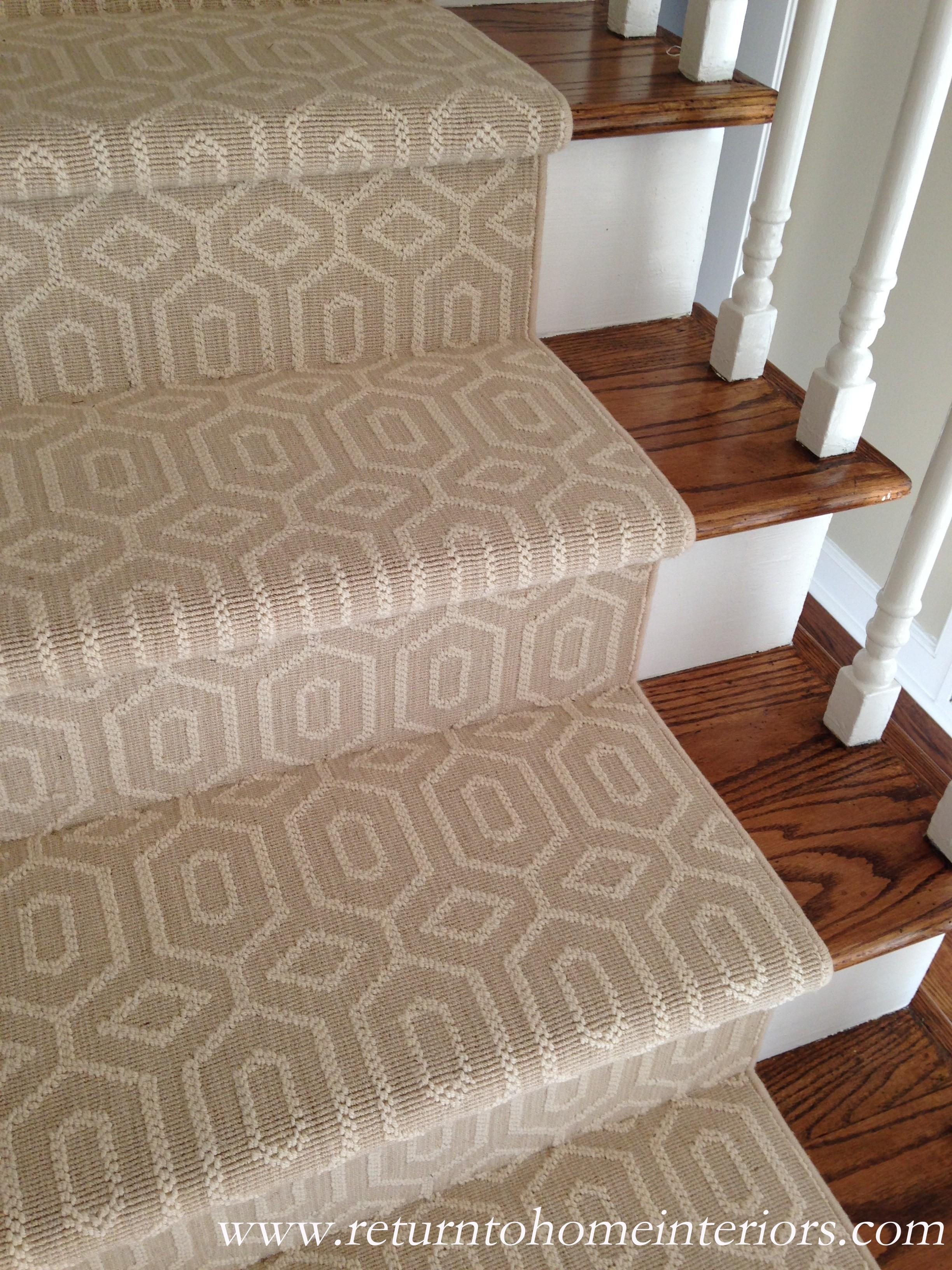 Choosing A Stair Runner Some Inspiration And Lessons Learned | Roll Runners For Stairs | Flooring | Carpet Stair Treads | Canyon Kazmir | Persian Garden | Area Rugs