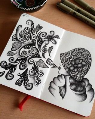 Moleskine doodle, September 14th