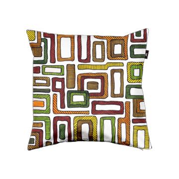Retro Squares cushion design