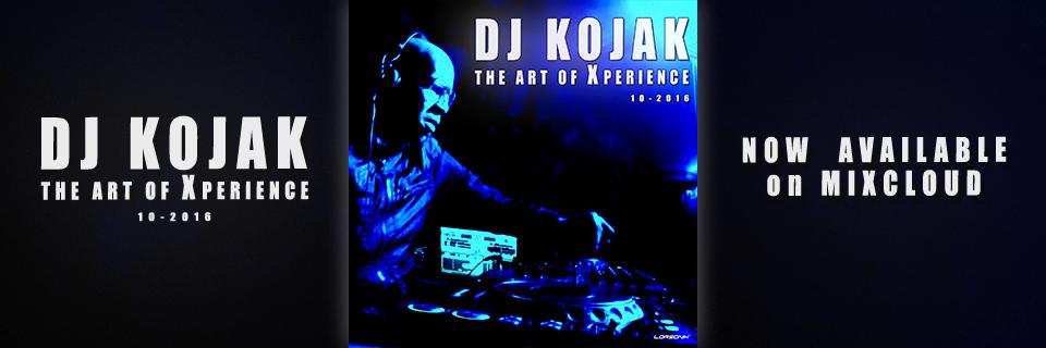 The art of Xperience by Dj Kojak - Oct 2016 - Banniere
