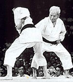 Gichin Funakoshi kumite