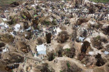 Mina de coltán de Rubaya en la República Democrática del Congo