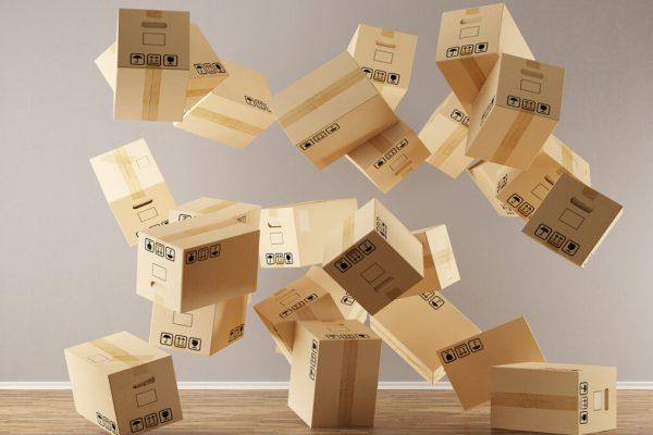 Cajas de mudanza