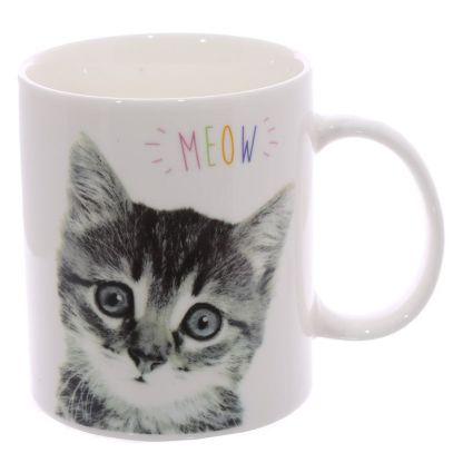 taza gatito meow