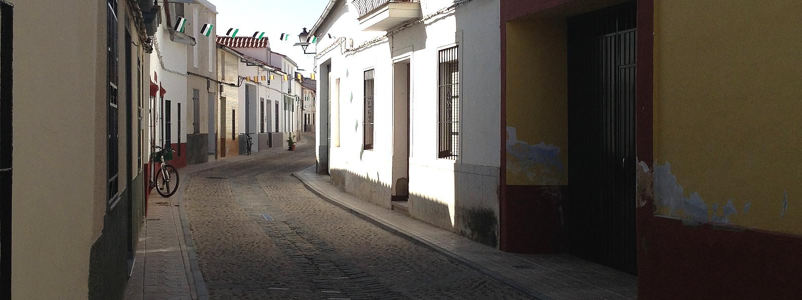 calle zurbaran en mengabril