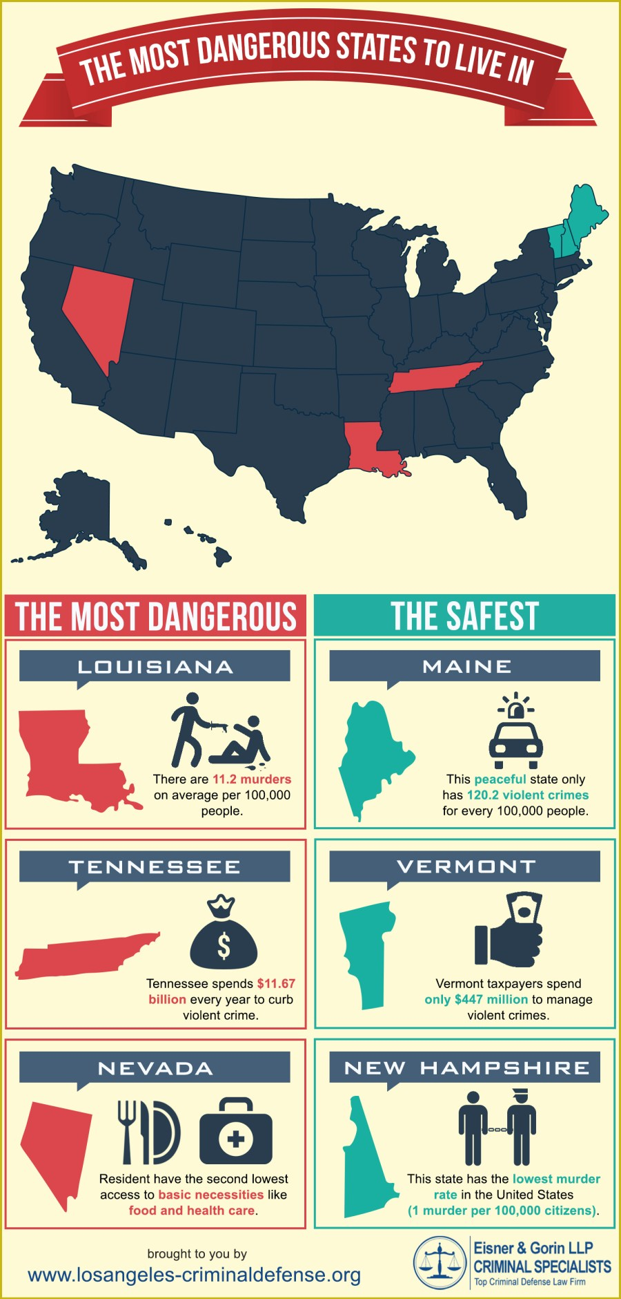 Inforgraphic-States genuinely dangerous to reside in