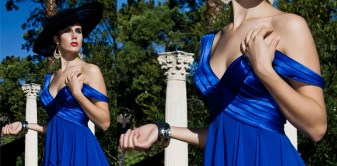 BCBG blue dress