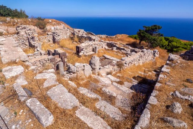 Ancient Thira - Santorini - Viaje islas griegas