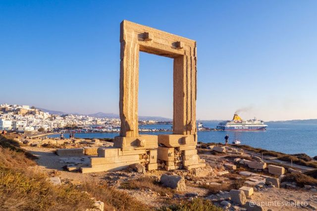 Templo de Apolo - Naxos - Viaje a las islas griegas