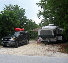 Camping en Big Pine Key y los Lower Keys