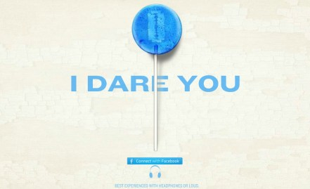 """Take This Lollipop"" Interactive Website. Photo courtesy of www.takethislollipop.com"