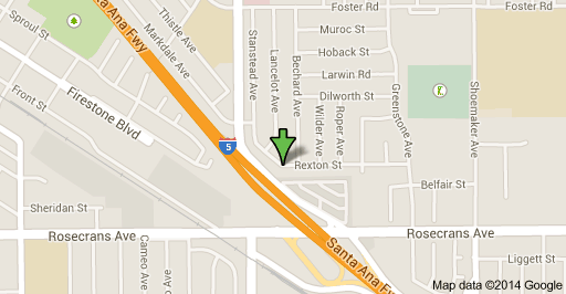 Area where the shooting death in Norwalk took place on Monday afternoon.