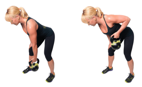 Image result for Bent Over Kettlebell Row