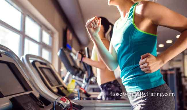 Lose Water Weight with Exercise