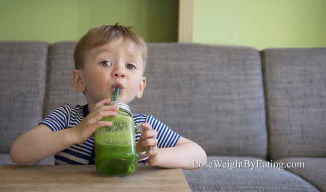 Kid Friendly Green Detox Juice