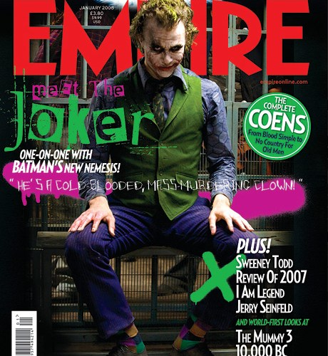 Heath Ledger en 'Empire'