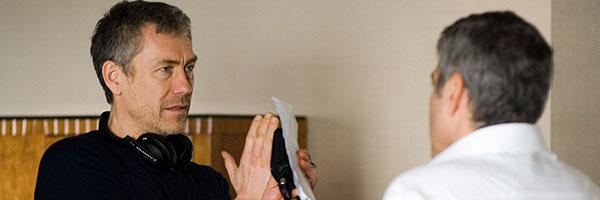 Tony Gilroy en el rodaje de 'Michael Clayton'