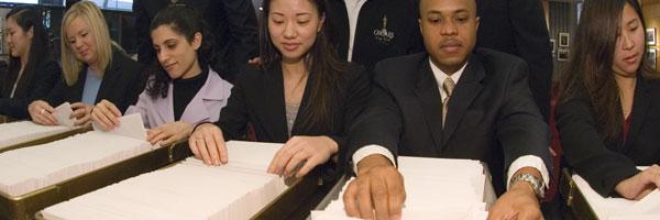 Recuento de papeletas para los Oscar de 2006